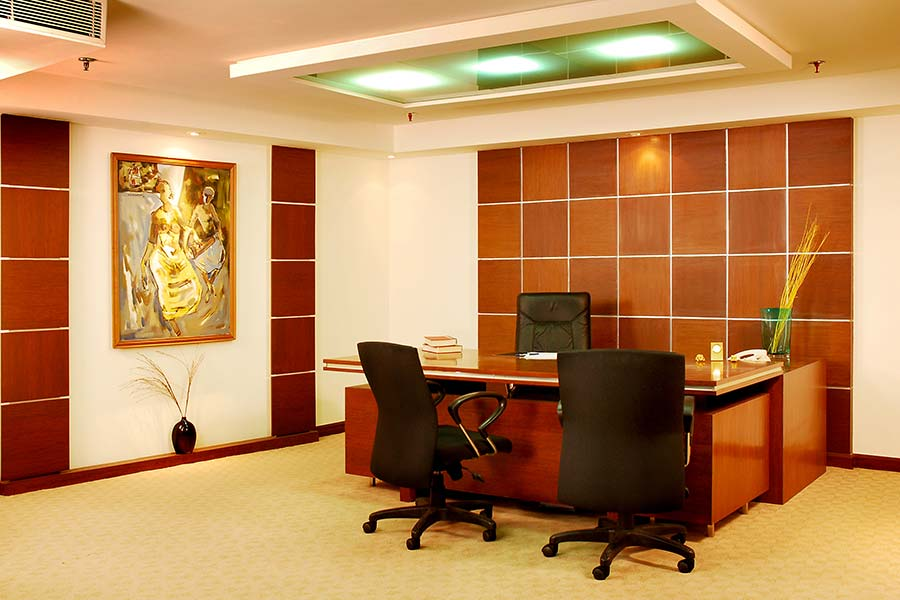 Office interior decorators regent seating collection for Office cabin interior