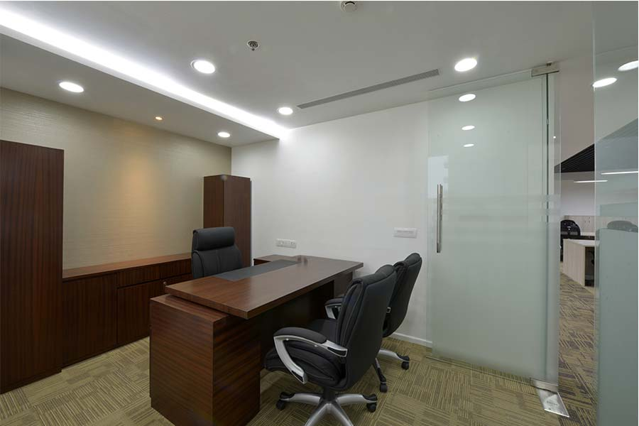 False Ceiling Design For Office Cabin
