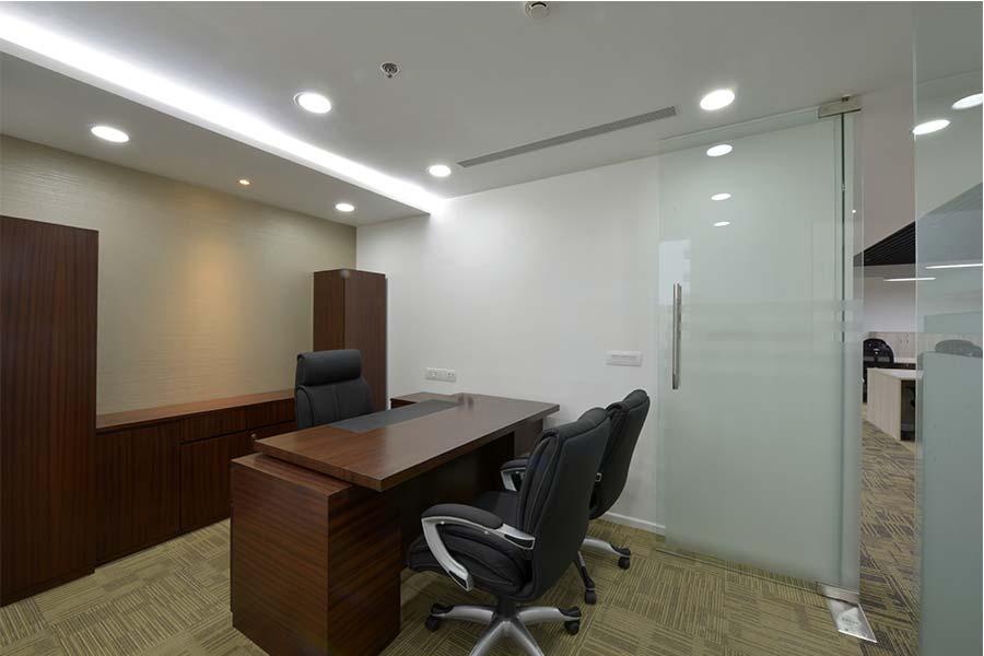 False Ceiling Design For Office Cabin