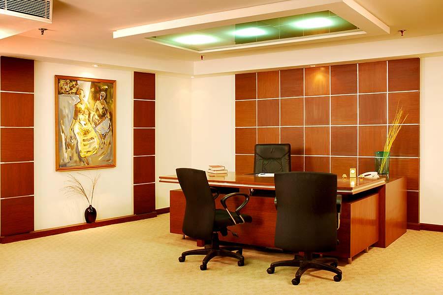 False ceiling design for office cabin for Office design jargon